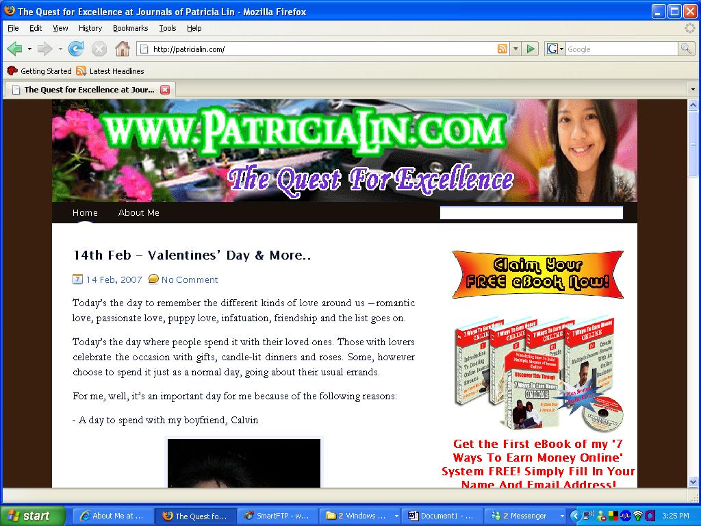 Patricia's New Blog